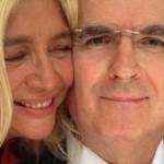 Come sta Lamberto Sposini? Mara Venier posta un selfie con il giornalista