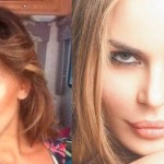 "Belen Rodriguez e Nina Moric, lite all'ultimo tweet: ""Ignorante e stupida come una capra"""
