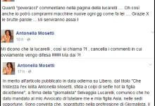 Nuovo scontro tra Selvaggia Lucarelli e Antonella Mosetti. La showgirl: 'Ho dato mandato al mio avvocato di tutelare me e mia figlia Asia'
