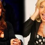 Selvaggia Lucarelli e l'sms a Simona Ventura: «Auguri per i 50 anni. Metà di quelli della D'Urso»
