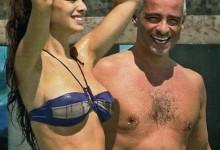 Eros Ramazzotti, ospite a Che Tempo Che Fa, fa una dedica a Marica Pellegrinelli per i suoi 27 anni